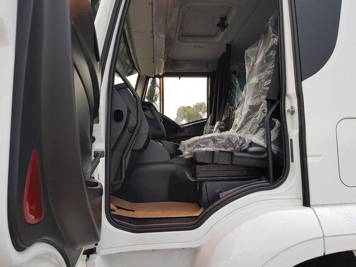 2021 IVECO STRALIS ATI 360 6X2 CAB CHASSIS white