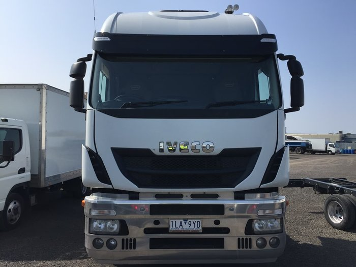 2016 IVECO STRALIS 560 null null WHITE