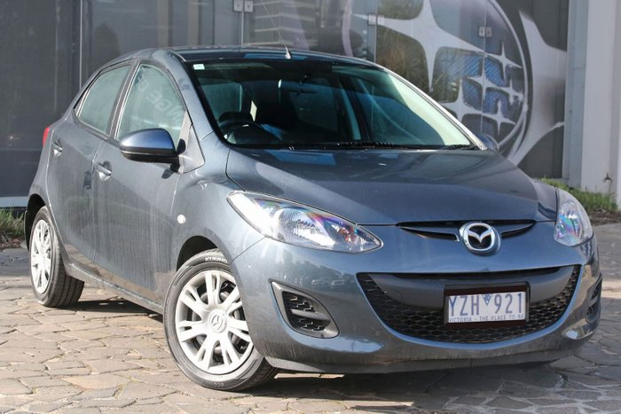 2012 Mazda 2 Neo DE Series 2 MY12 Grey