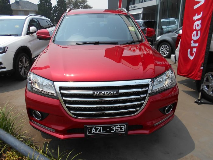 2019 Haval H2 LUX (No Series) Red