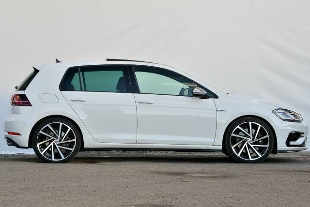 2019 Volkswagen Golf R 7.5 MY20 Four Wheel Drive PURE WHITE