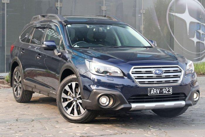 2016 Subaru Outback 2.0D Premium 5GEN MY16 Four Wheel Drive Blue