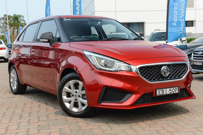 2019 MG MG3 Core MY18 Red