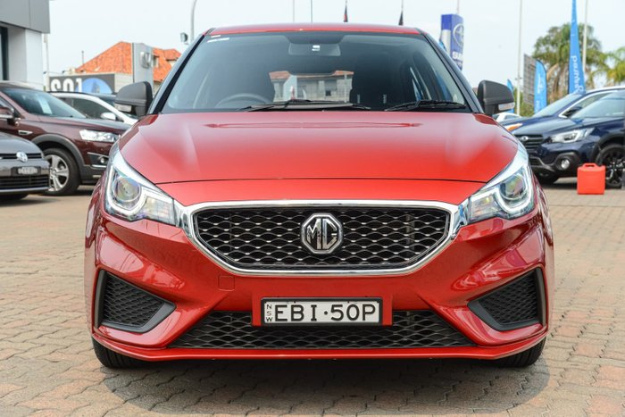 2019 MG MG3 Core MY18 Red