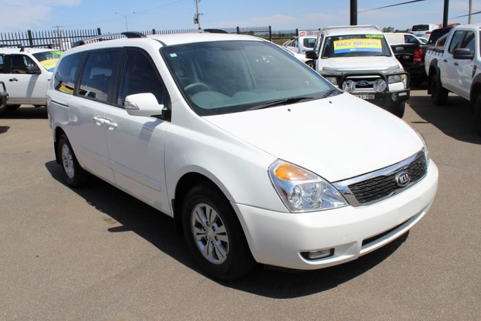 2013 Kia Grand Carnival Si VQ MY13 White