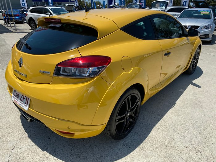 2011 Renault Megane R.S. 250 Cup III D95 Yellow