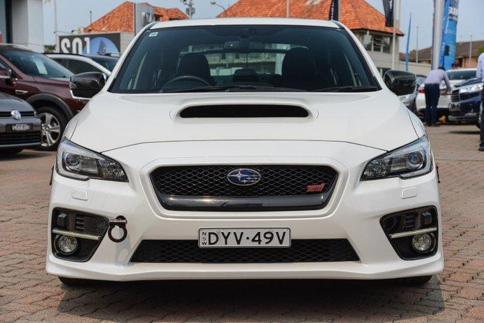 2015 Subaru WRX STI Premium V1 MY15 Four Wheel Drive White