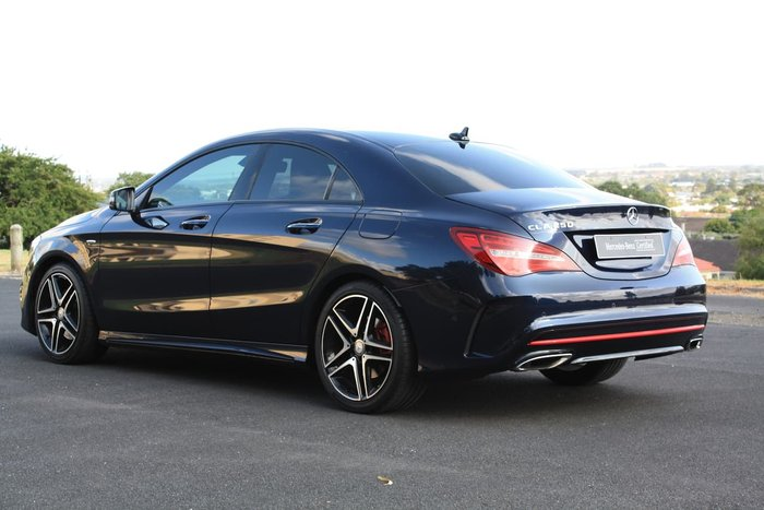 2016 Mercedes-Benz CLA-Class CLA250 Sport C117 Four Wheel Drive Blue
