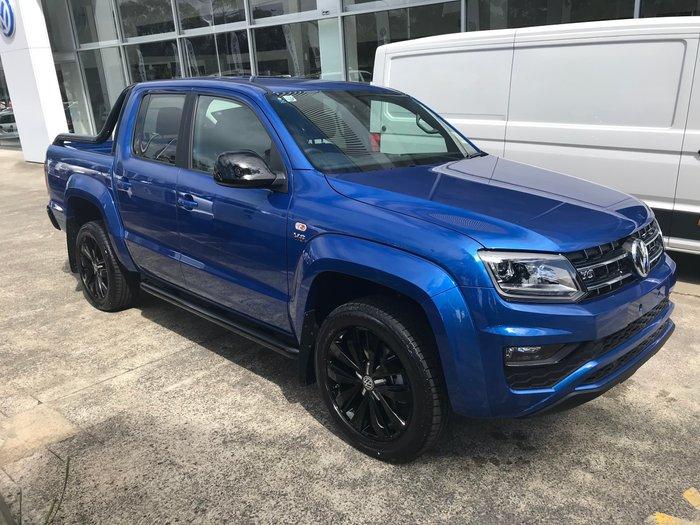 2019 Volkswagen Amarok TDI580 Highline Black 2H MY19 4X4 Constant Blue