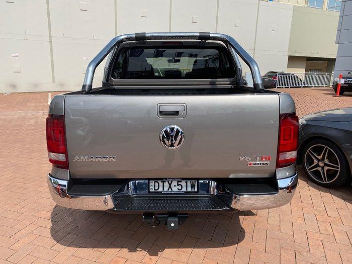 2017 Volkswagen Amarok TDI550 Highline 2H MY17.5 4X4 Constant Brown