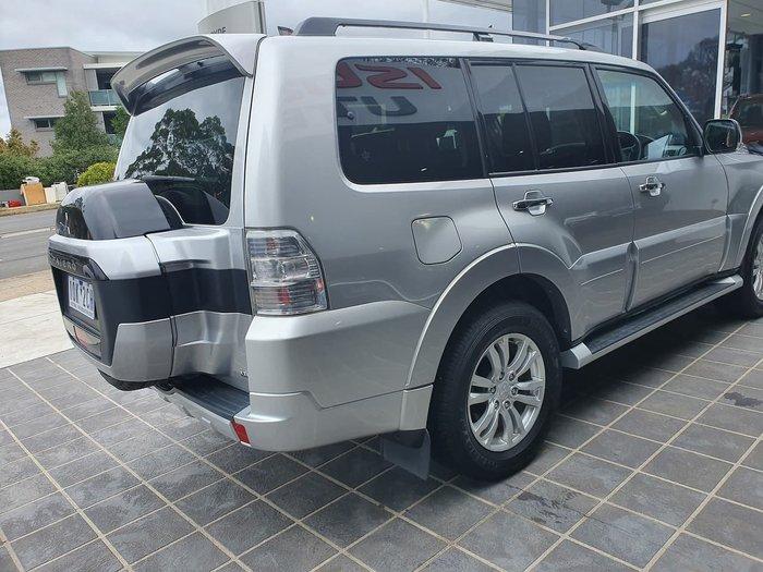 2018 Mitsubishi Pajero GLX NX MY18 4X4 Dual Range Silver