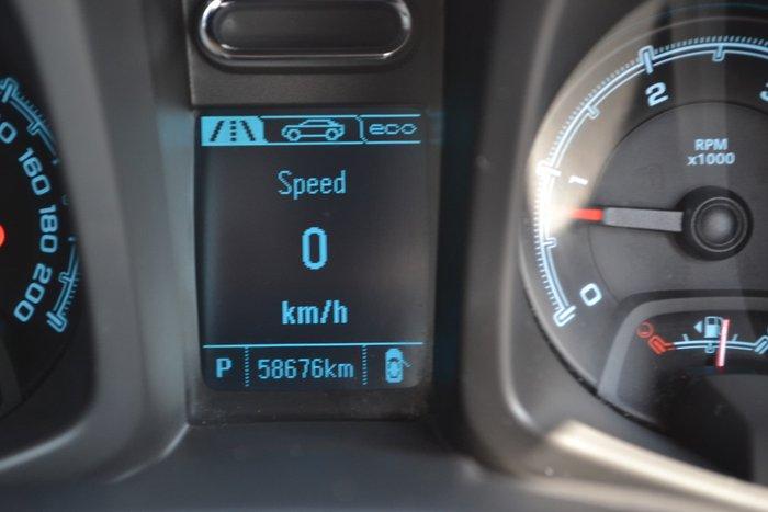 2016 Holden Colorado Storm RG MY16 4X4 Dual Range Black