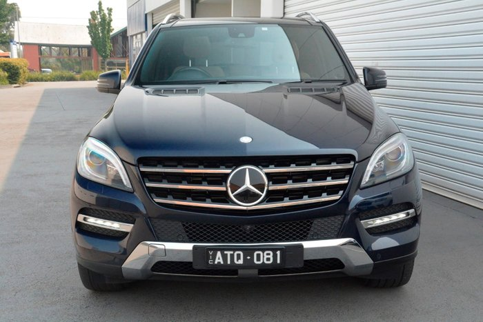 2013 Mercedes-Benz M-Class ML350 BlueTEC W166 4X4 Constant Blue