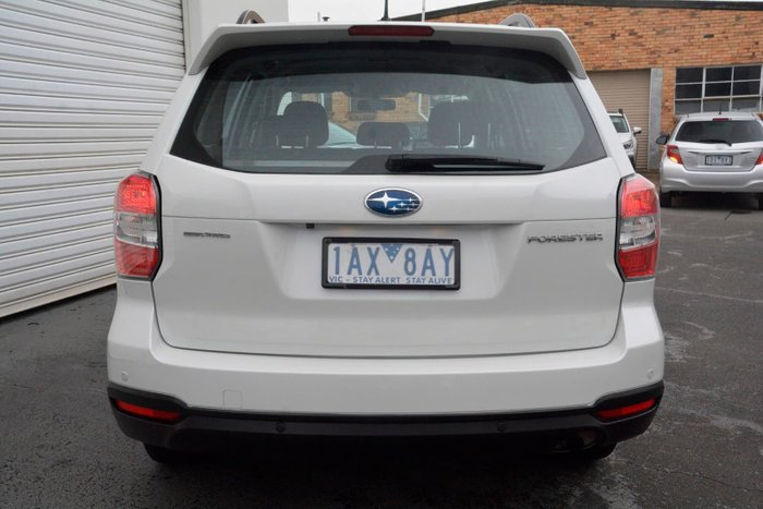 2013 Subaru Forester 2.5i S4 MY13 Four Wheel Drive White