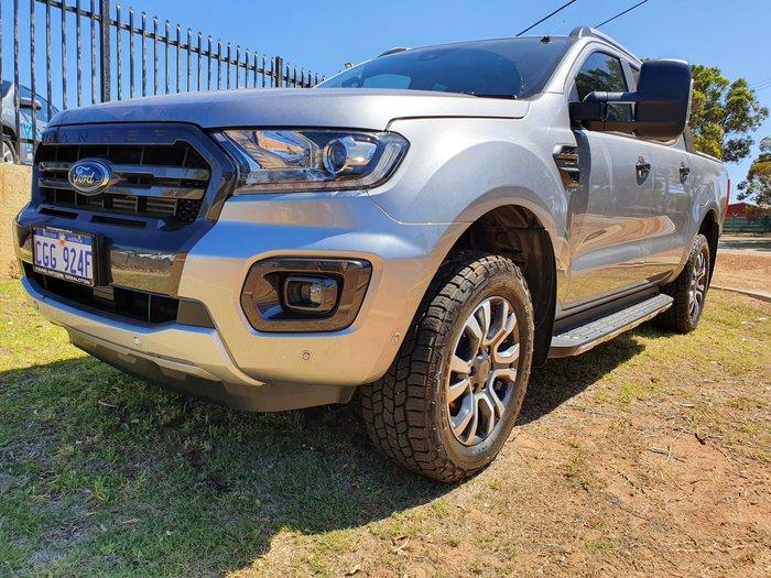 2019 Ford Ranger Wildtrak PX MkIII MY19 4X4 Dual Range Silver
