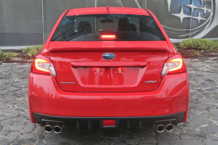 2019 Subaru WRX V1 MY20 Four Wheel Drive Red