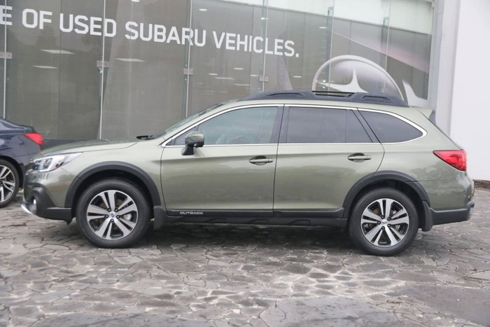 2019 Subaru Outback 2.5i Premium 5GEN MY19 Four Wheel Drive Green