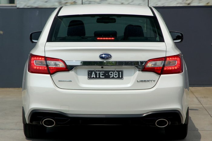 2018 Subaru Liberty 3.6R 6GEN MY18 Four Wheel Drive White