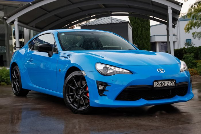 2018 Toyota 86 GTS Apollo Blue ZN6 Blue
