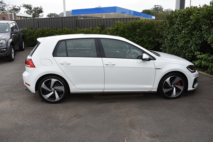 2019 Volkswagen Golf GTI 7.5 MY19.5 White