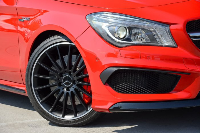 2015 Mercedes-Benz CLA-Class CLA45 AMG C117 Four Wheel Drive Red