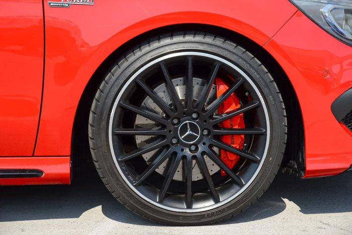 2015 Mercedes-Benz CLA-Class CLA45 AMG C117 Four Wheel Drive Red