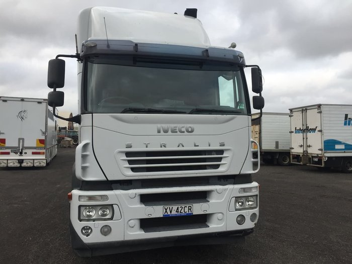 2007 IVECO STRALIS null null WHITE