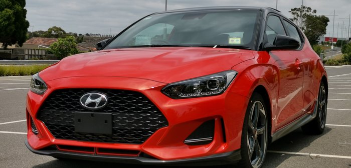 2019 Hyundai Veloster Turbo Premium JS MY20 Orange