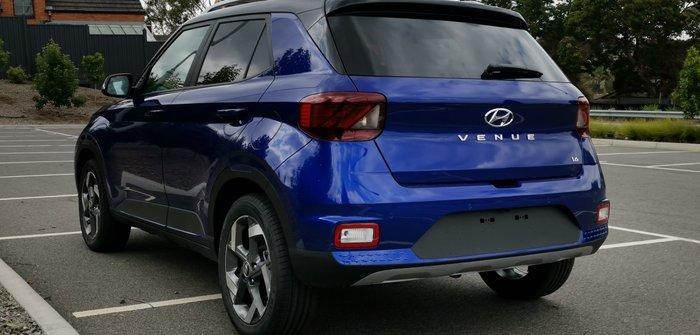 2019 Hyundai Venue Elite QX MY20 Blue