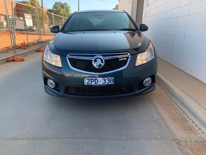 2013 Holden Cruze SRi-V JH Series II MY13 Blue