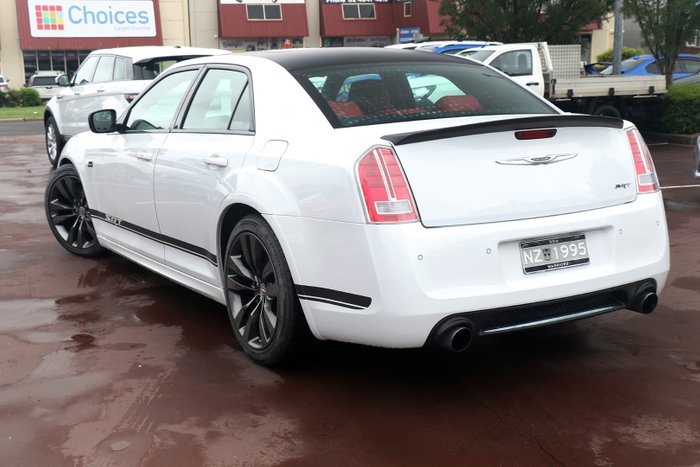 2014 Chrysler 300 SRT-8 Core Satin Vapour LX MY14 White