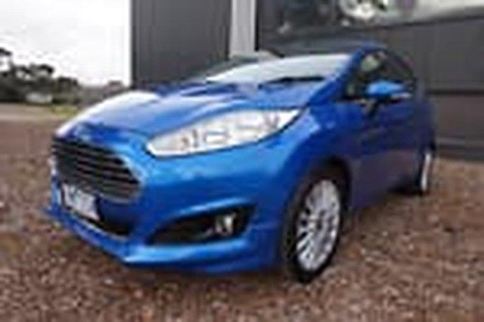 2018 Ford Fiesta Sport WZ Blue