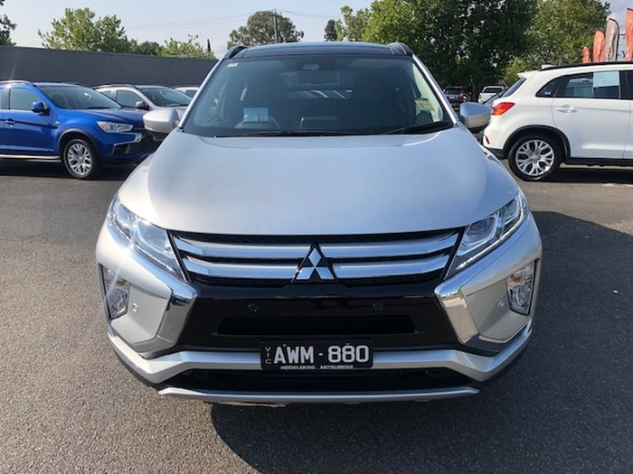 2017 Mitsubishi Eclipse Cross Exceed YA MY18 Silver