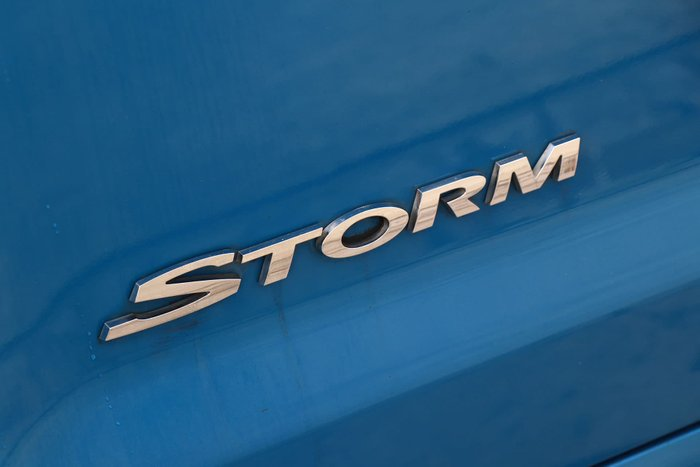 2014 Holden Ute SS Storm VF MY14 Blue