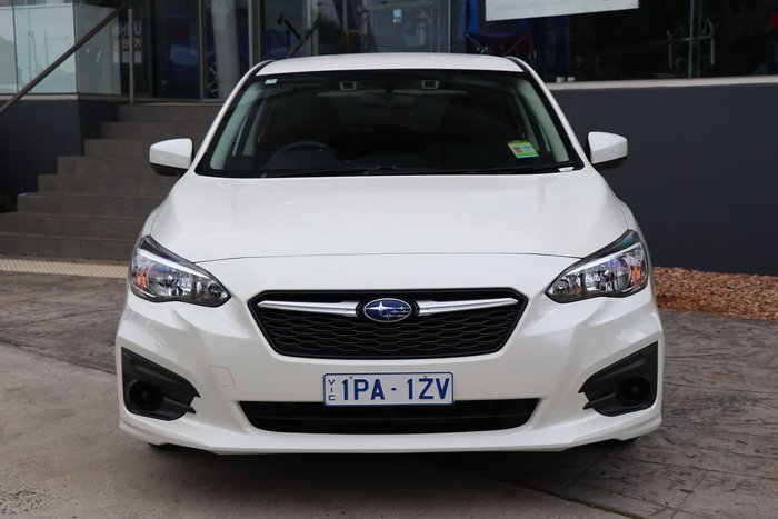 2019 Subaru Impreza 2.0i Limited Edition G5 MY19 Four Wheel Drive White