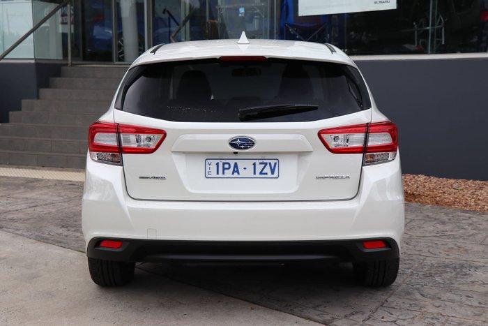 2019 Subaru Impreza 2.0i Limited Edition G5 MY19 Four Wheel Drive White