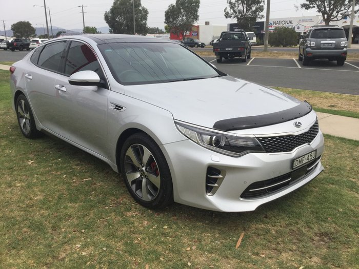2016 Kia Optima GT JF MY16 Silver