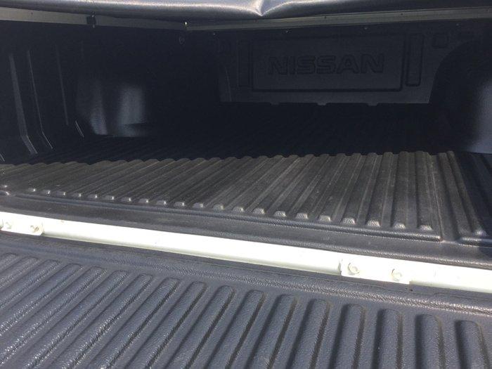 2012 Nissan Navara ST-R D22 S5 4X4 White