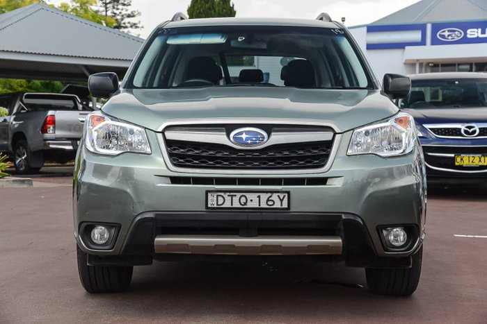2014 Subaru Forester 2.5i S4 MY14 Four Wheel Drive Green