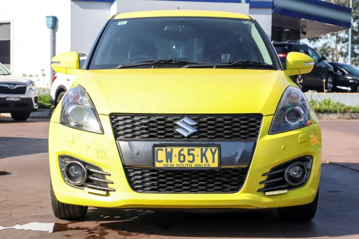 2012 Suzuki Swift Sport FZ Yellow