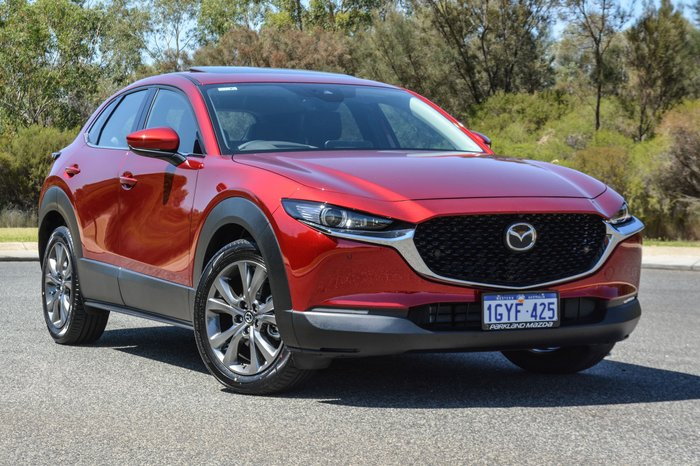 2019 Mazda CX-30 G25 Astina DM Series Red