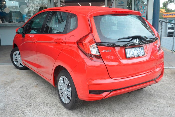 2018 Honda Jazz VTi GF MY18 Red