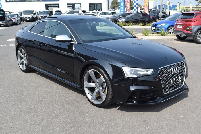 2013 Audi RS5 8T MY13 Four Wheel Drive Black
