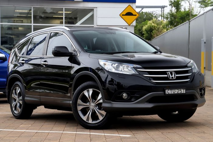 2014 Honda CR-V VTi-L RM MY15 4X4 On Demand Black