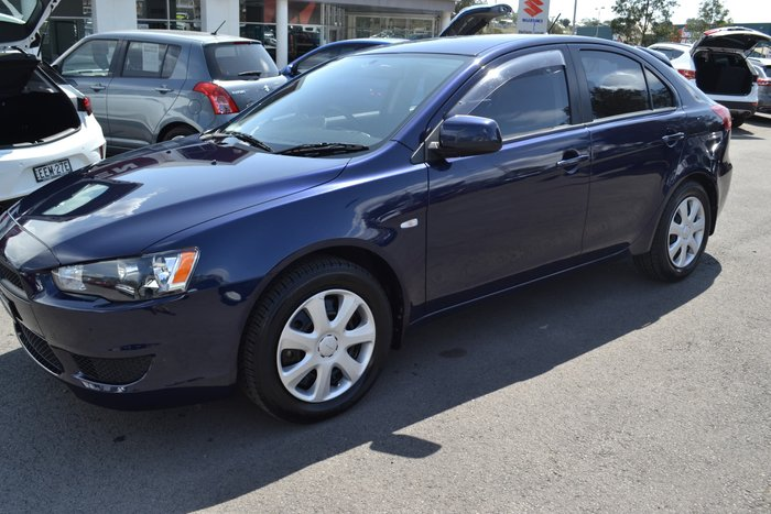 2012 Mitsubishi Lancer ES CJ MY13 Blue