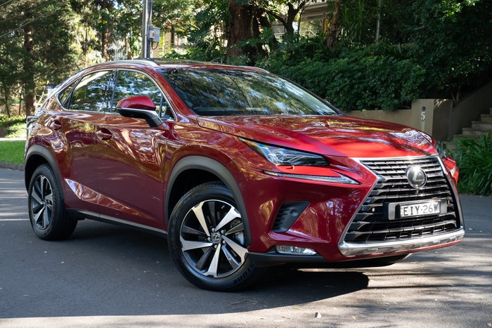 2019 Lexus NX NX300 Sports Luxury AGZ15R 4X4 On Demand VERMILLION