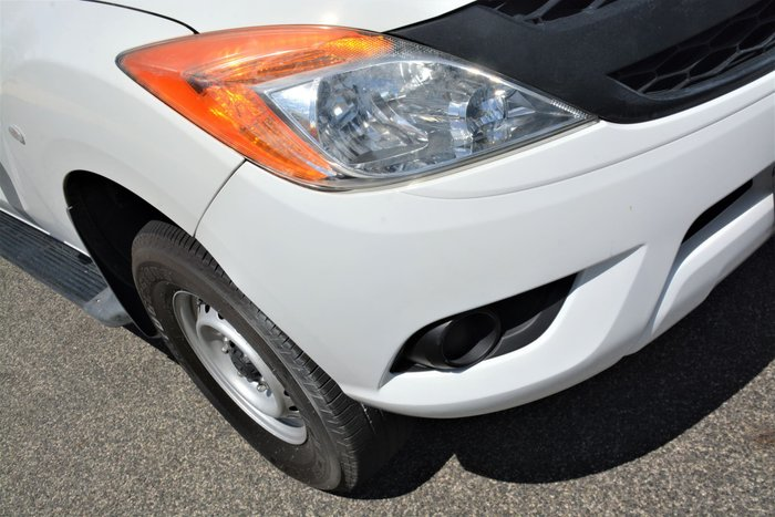 2013 Mazda BT-50 XT Hi-Rider UP White