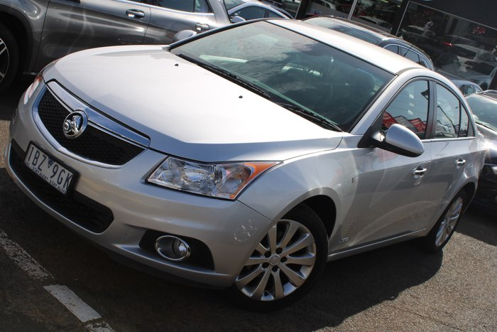 2014 Holden Cruze Z Series JH Series II MY14 Silver