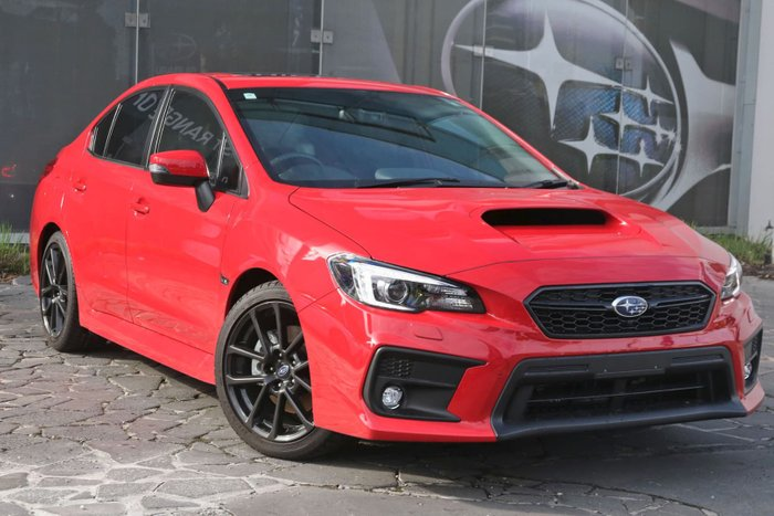 2019 Subaru WRX Premium V1 MY20 Four Wheel Drive Red