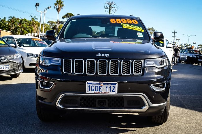 2018 Jeep Grand Cherokee Limited WK MY18 4X4 Dual Range Black
